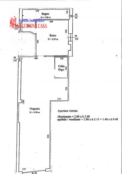 Negozio / Locale in affitto a Pieve di Cento, 2 locali, prezzo € 500 | Cambio Casa.it