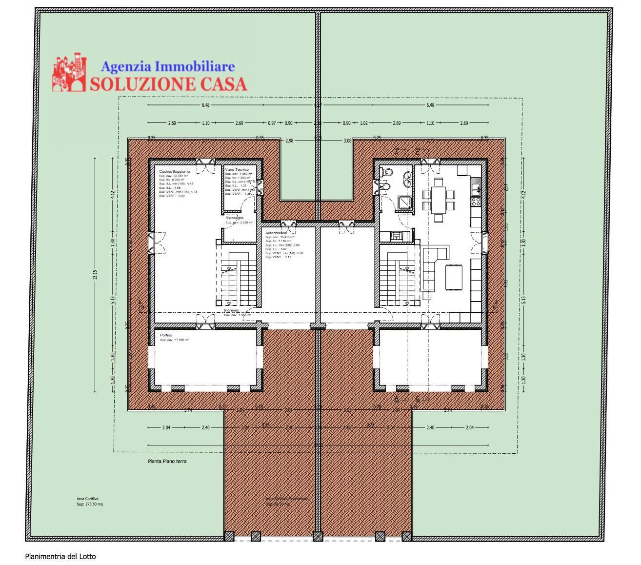 Villa in vendita a Pieve di Cento, 5 locali, prezzo € 350.000 | Cambio Casa.it