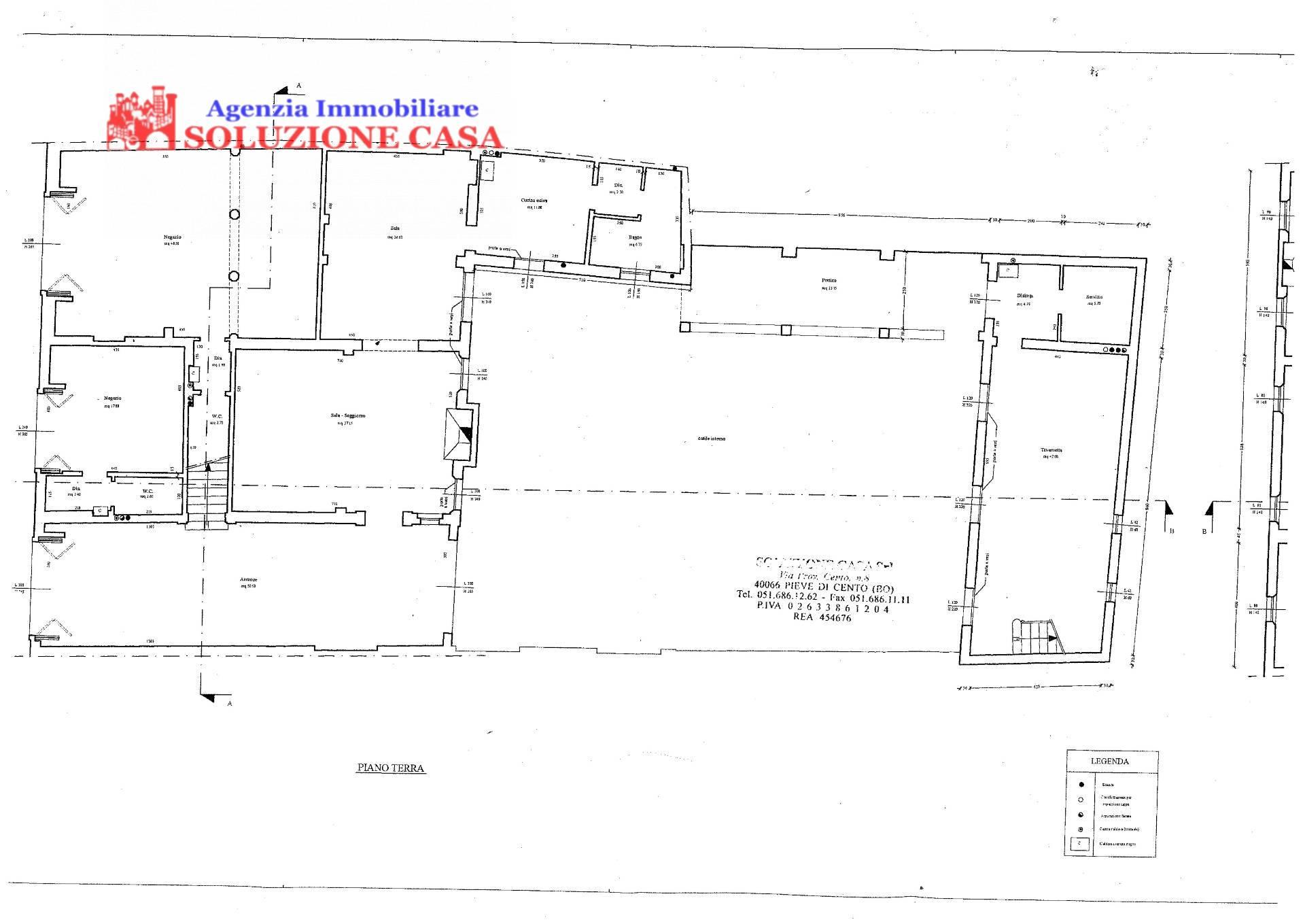 Soluzione Indipendente in vendita a Pieve di Cento, 12 locali, prezzo € 550.000 | Cambio Casa.it