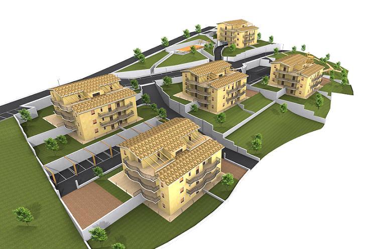 Appartamento in vendita a Acquaviva Picena, 2 locali, zona Località: Panoramica, prezzo € 105.000   Cambio Casa.it