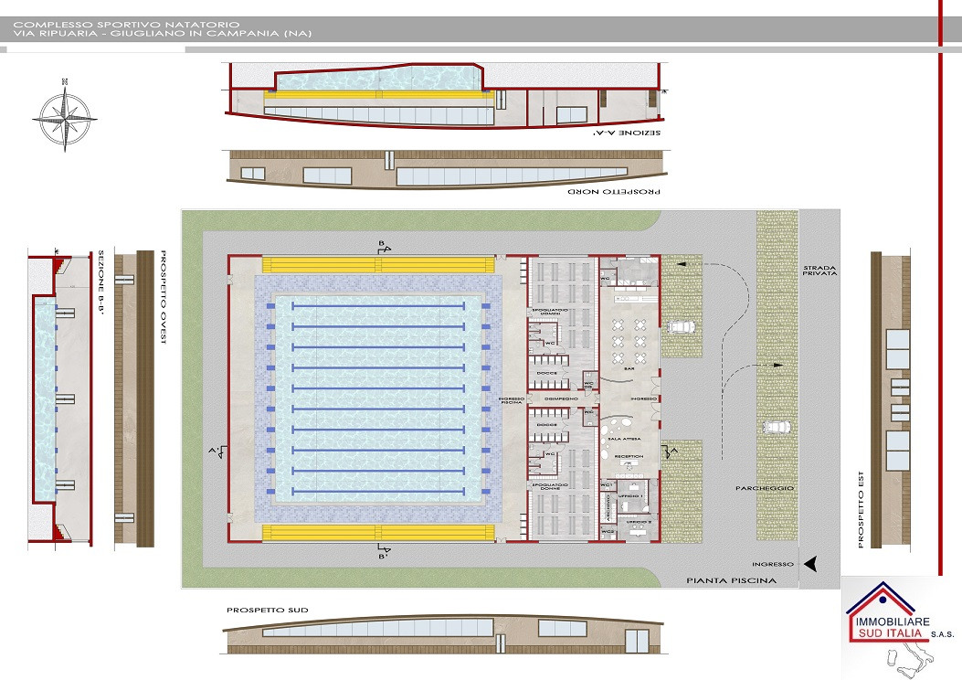 Terreno vendita GIUGLIANO IN CAMPANIA (NA) - 7 LOCALI - 8000 MQ