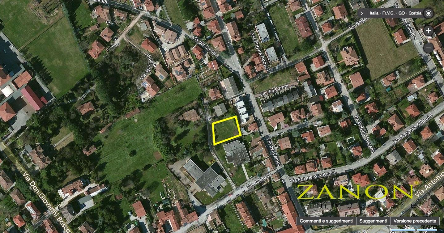 vendita terreno edificabile gorizia 0 1460  190.000 €