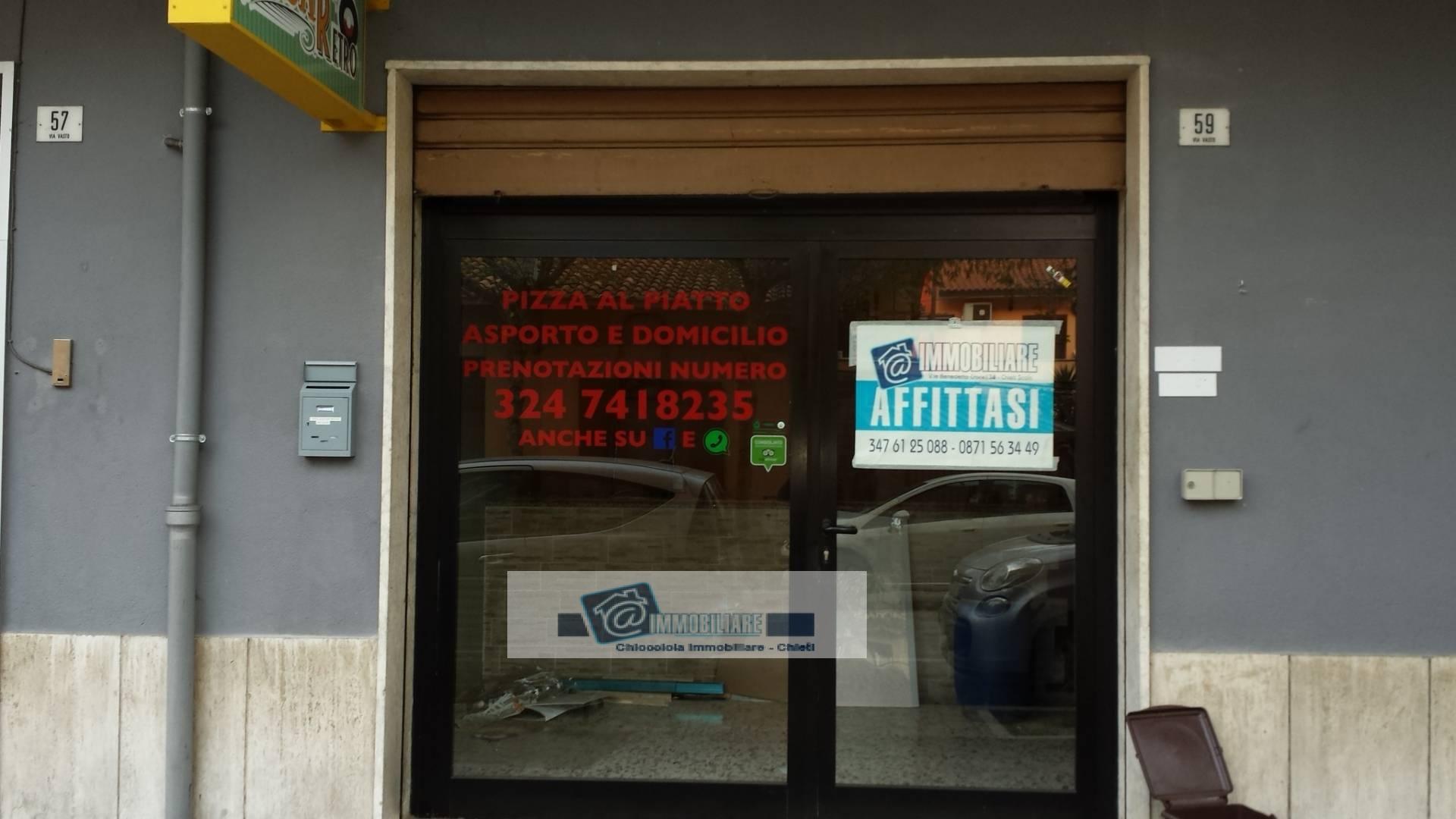 Negozio / Locale in affitto a Chieti, 9999 locali, zona Zona: Stazione, prezzo € 480 | Cambio Casa.it