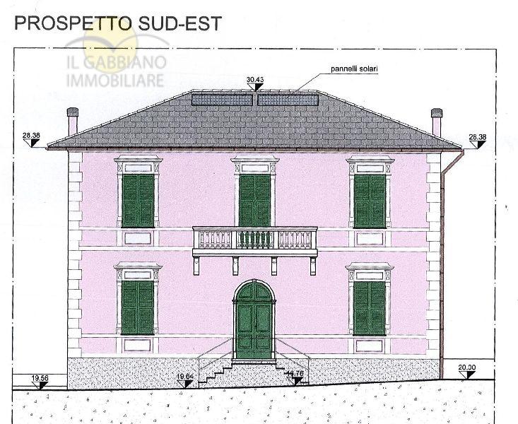 Villa in vendita a Recco, 15 locali, zona Località: meglibassa, prezzo € 950.000 | Cambio Casa.it
