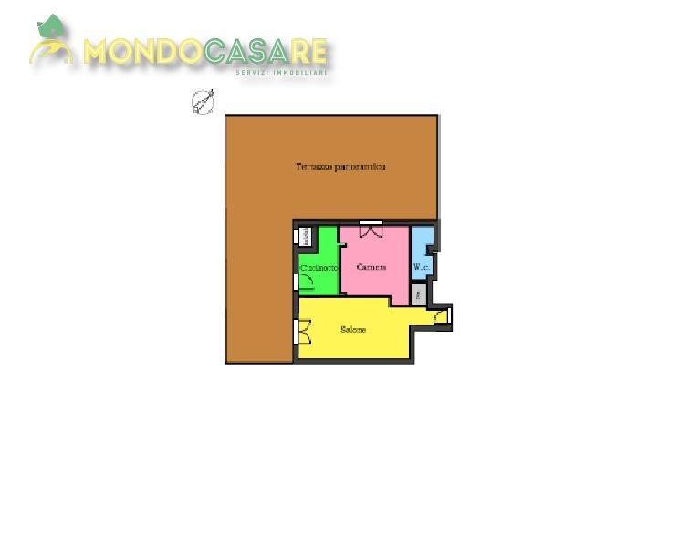 Bilocale Monterotondo  4