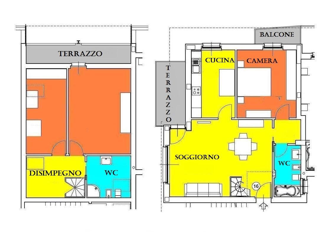 Bilocale Pessano con Bornago Dante Alighieri 4