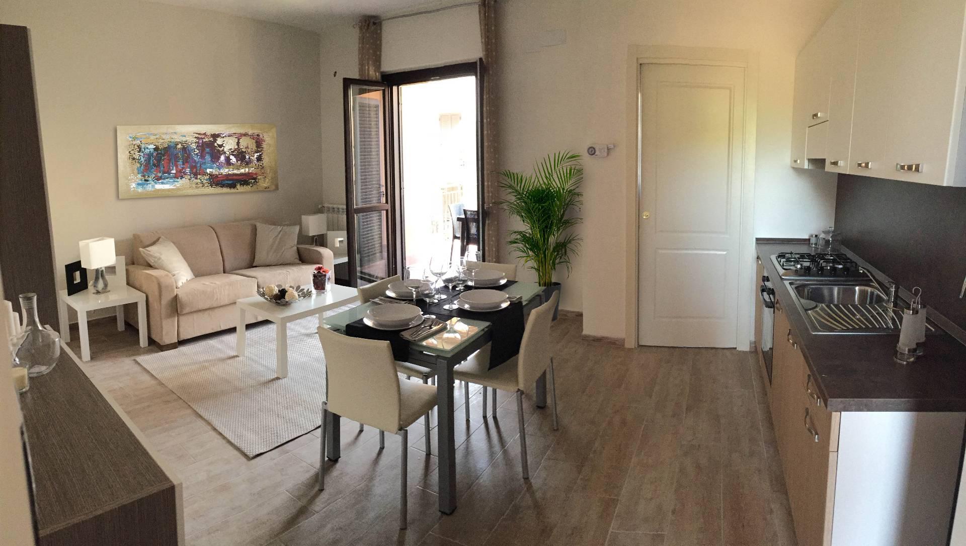 Appartamento in affitto a Fonte Nuova, 1 locali, zona Località: TorLupara, Trattative riservate | Cambio Casa.it