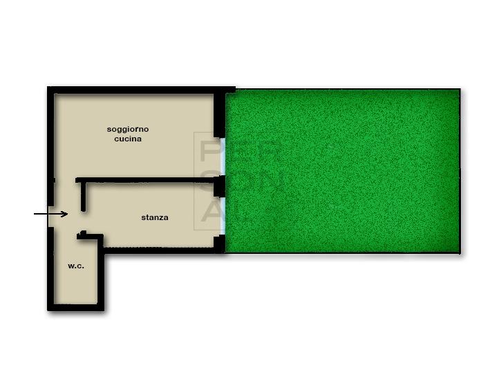 Appartamento in vendita a Lavis, 2 locali, prezzo € 185.000 | CambioCasa.it
