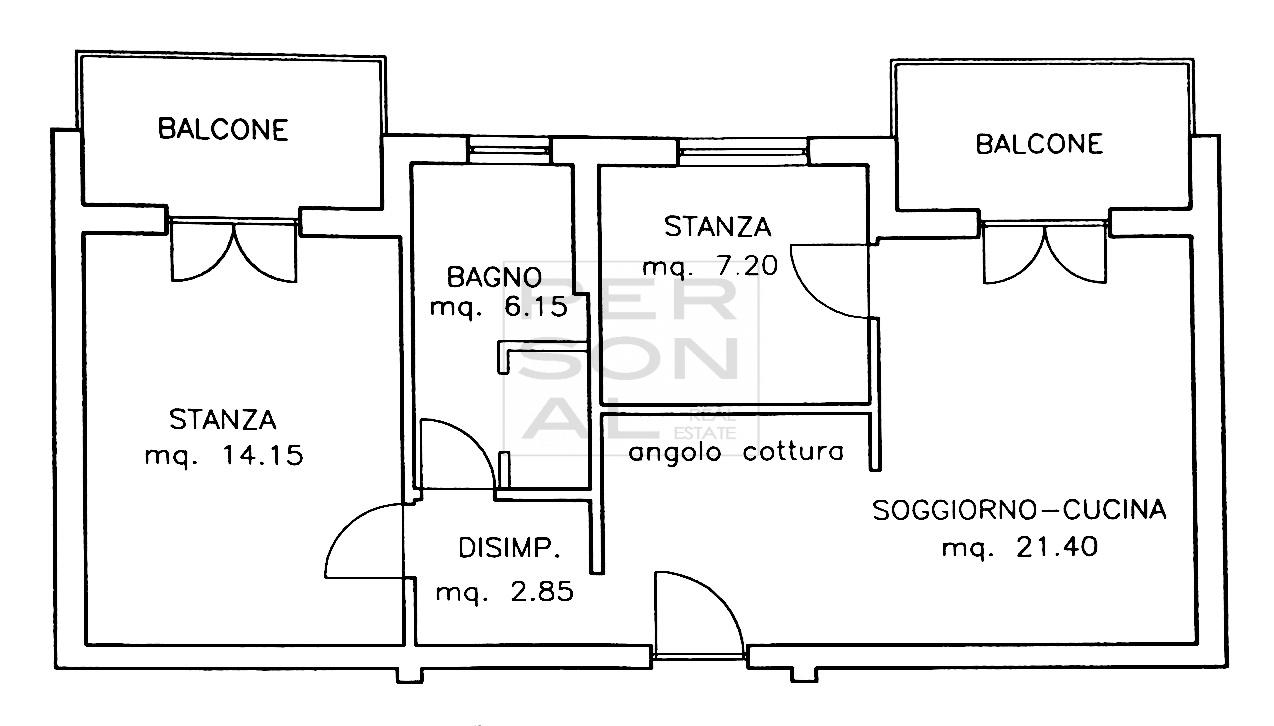 Appartamento in vendita a Vadena, 3 locali, prezzo € 180.000 | CambioCasa.it