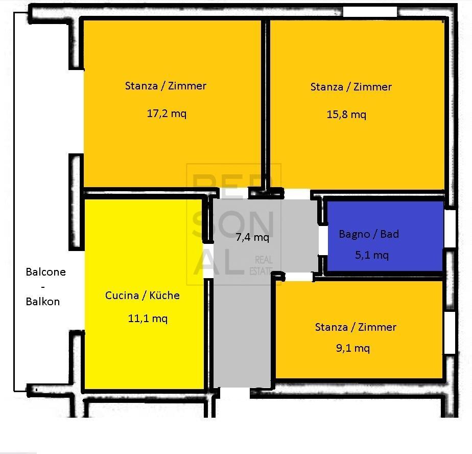Appartamento in vendita a Salorno, 4 locali, prezzo € 189.000 | CambioCasa.it