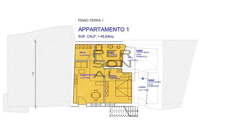 Appartamento in vendita a Salorno, 2 locali, zona Zona: Pochi, prezzo € 109.000 | CambioCasa.it