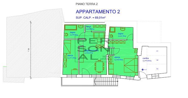 Appartamento in vendita a Salorno, 4 locali, zona Zona: Pochi, prezzo € 145.000 | CambioCasa.it