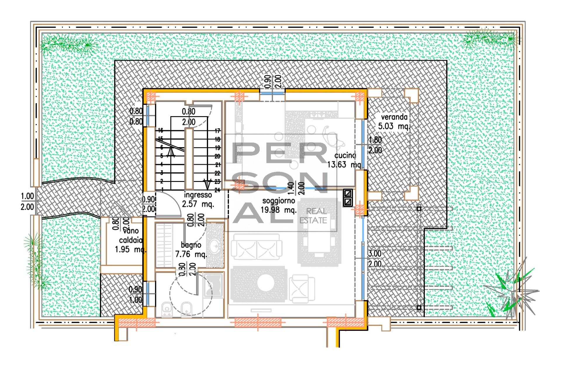 Villa Bifamiliare in vendita a Drena, 5 locali, prezzo € 329.000   CambioCasa.it