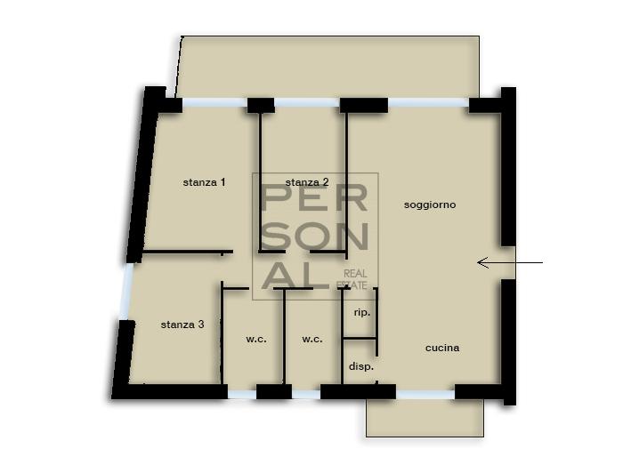Appartamento in vendita a Vezzano, 4 locali, prezzo € 335.000 | CambioCasa.it