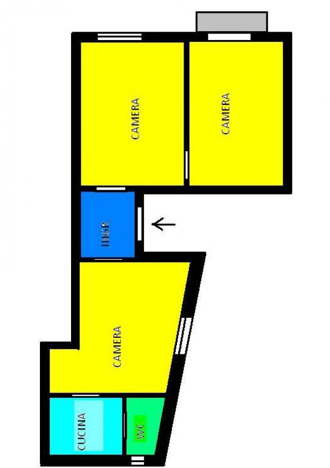Appartamento in affitto a Napoli, 3 locali, zona Località: Sanità, prezzo € 75.000 | Cambio Casa.it