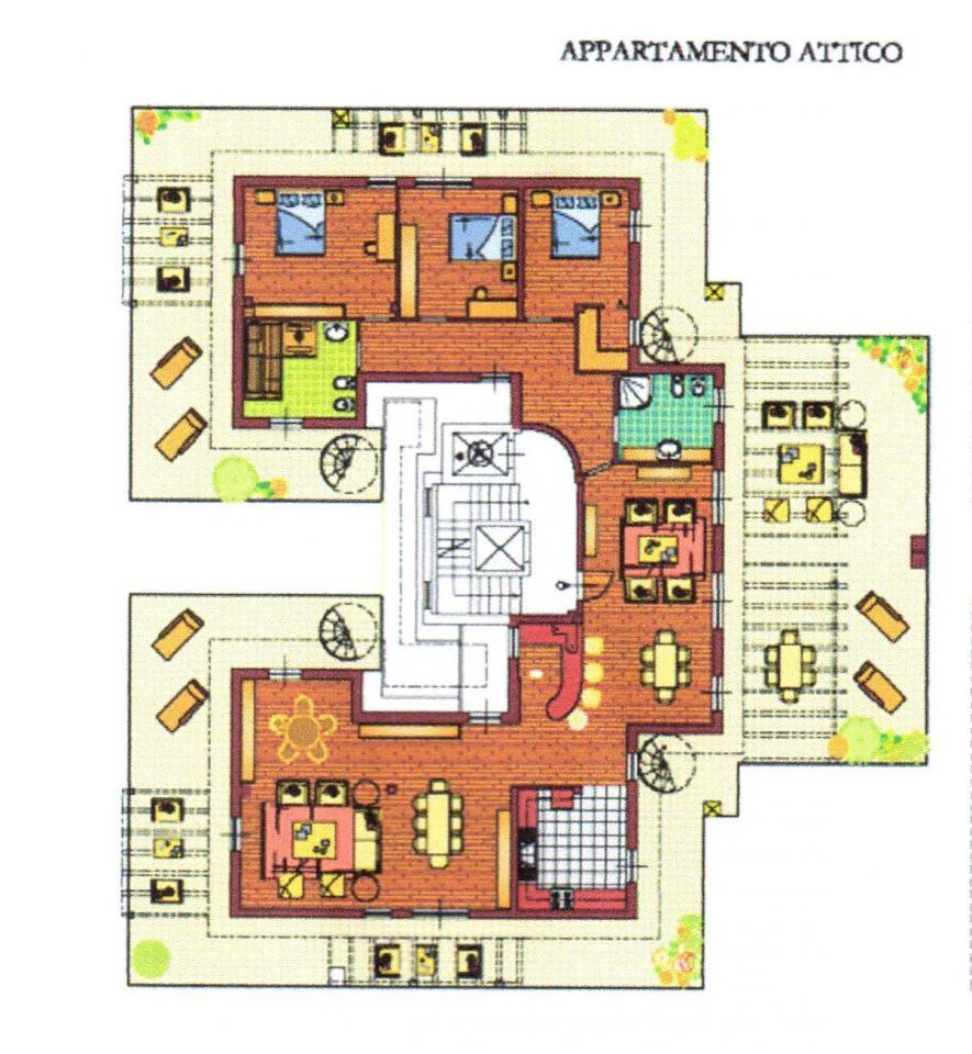 Attico / Mansarda in vendita a San Benedetto del Tronto, 5 locali, zona Località: MARE, prezzo € 480.000 | CambioCasa.it