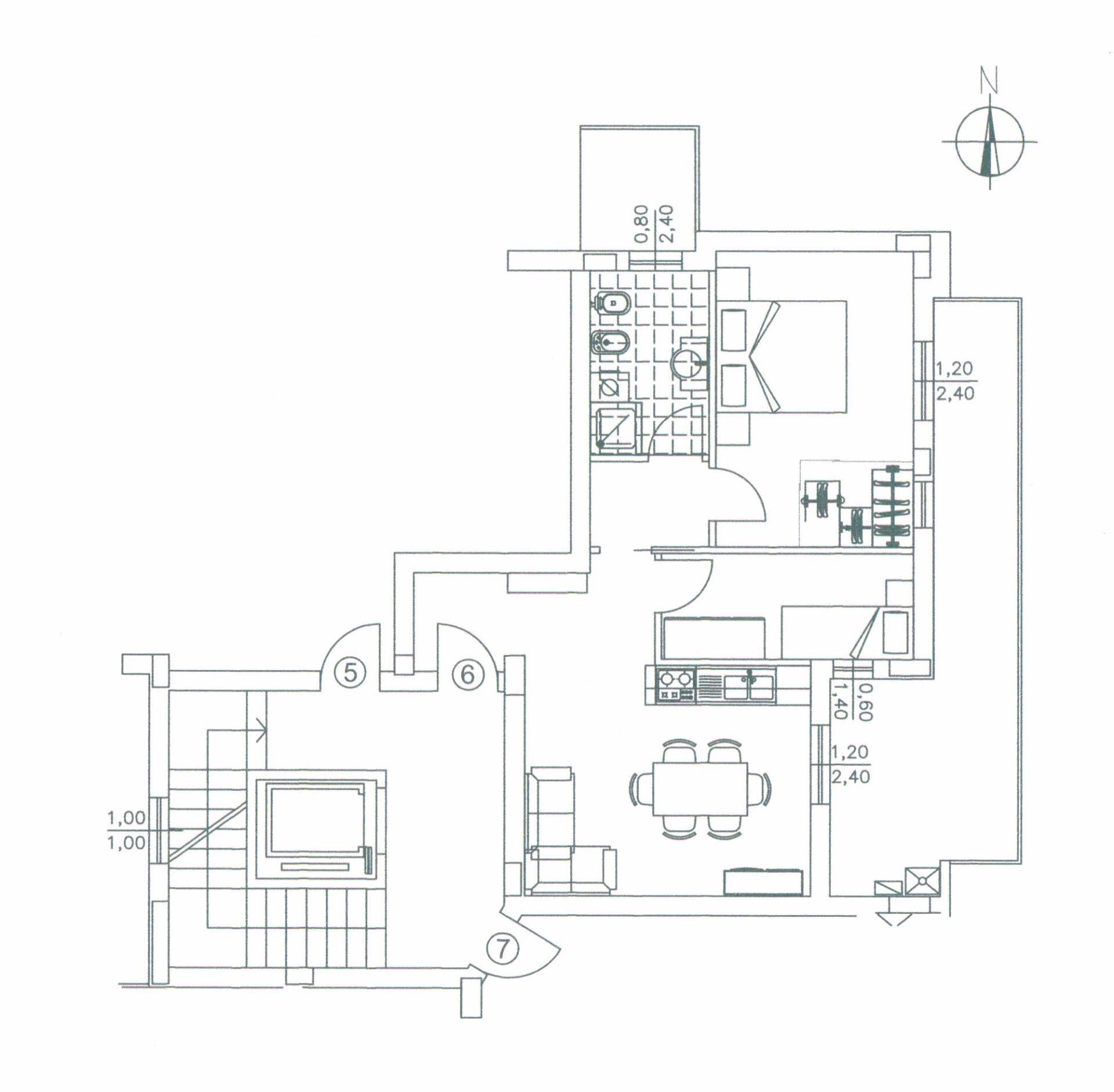 Appartamento in vendita a San Benedetto del Tronto, 3 locali, zona Località: CENTRALEVERSOSUD, prezzo € 190.000   CambioCasa.it