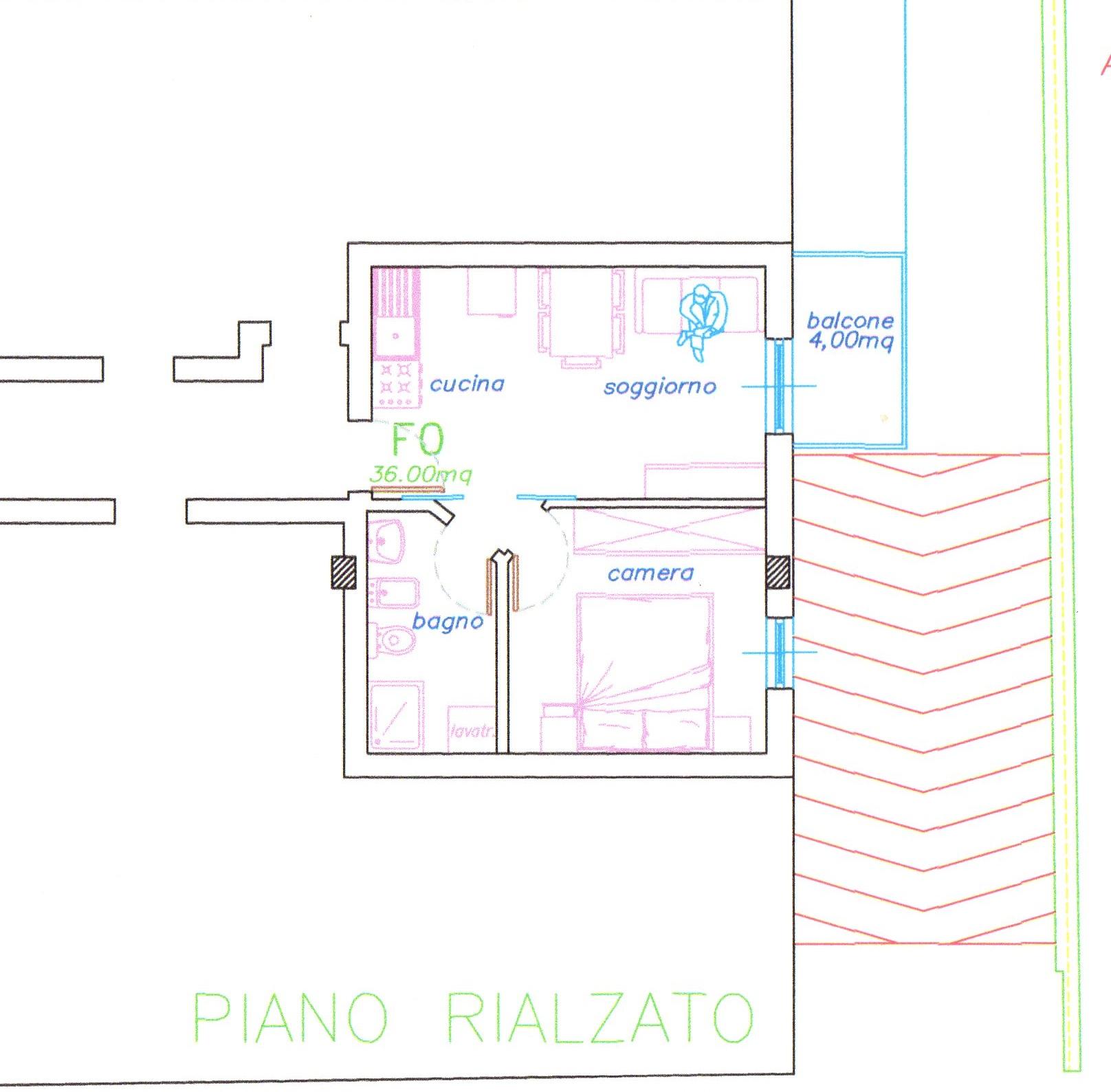 Bilocale San Benedetto del Tronto Via Alfieri 1