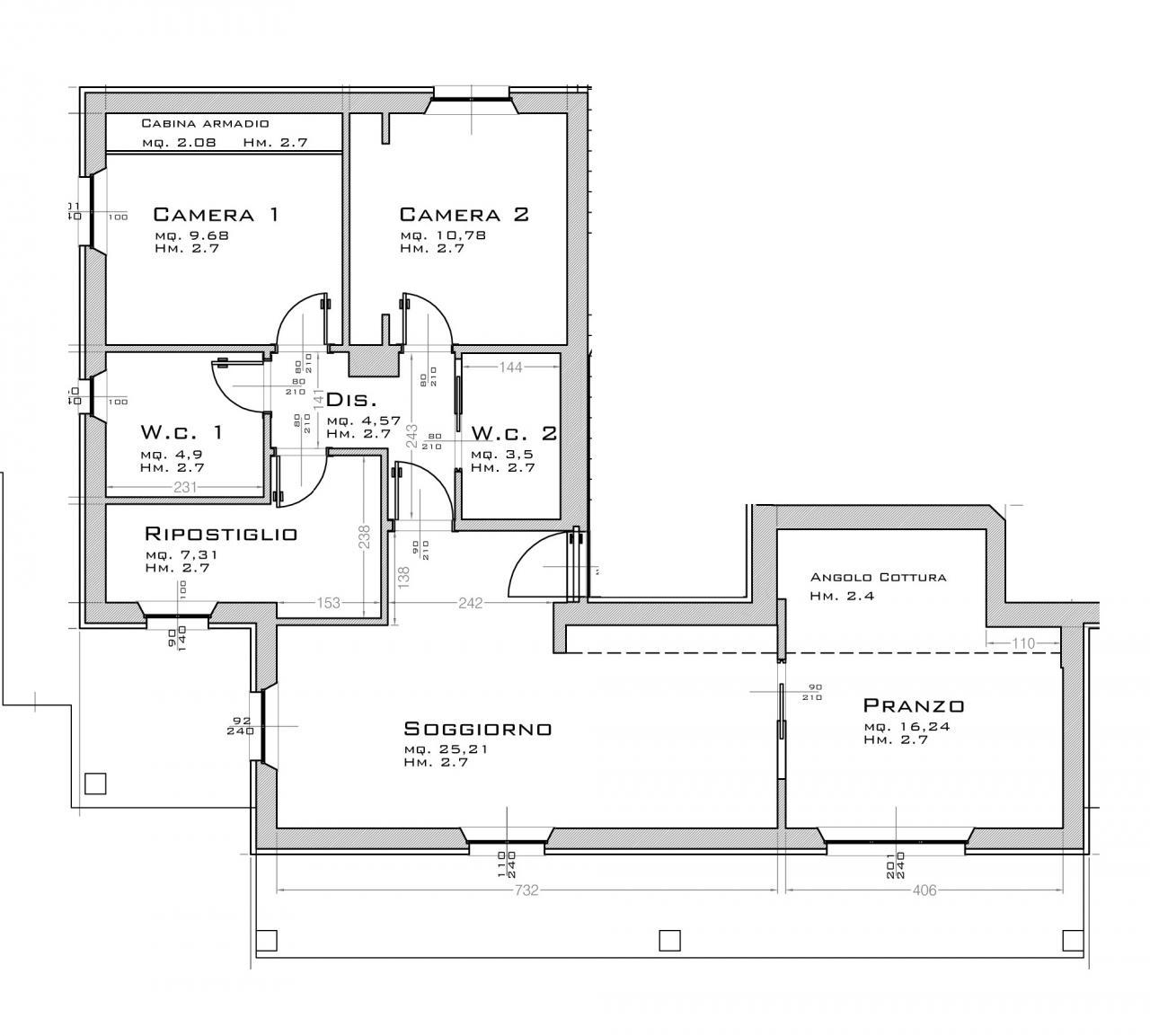 Appartamento in vendita a Massignano, 5 locali, zona Località: Marina, prezzo € 235.000 | CambioCasa.it