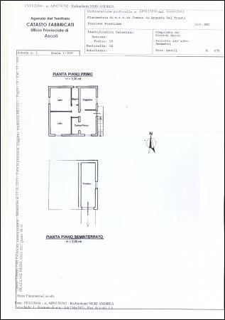 Villa in vendita a Arquata del Tronto, 4 locali, prezzo € 120.000 | Cambio Casa.it