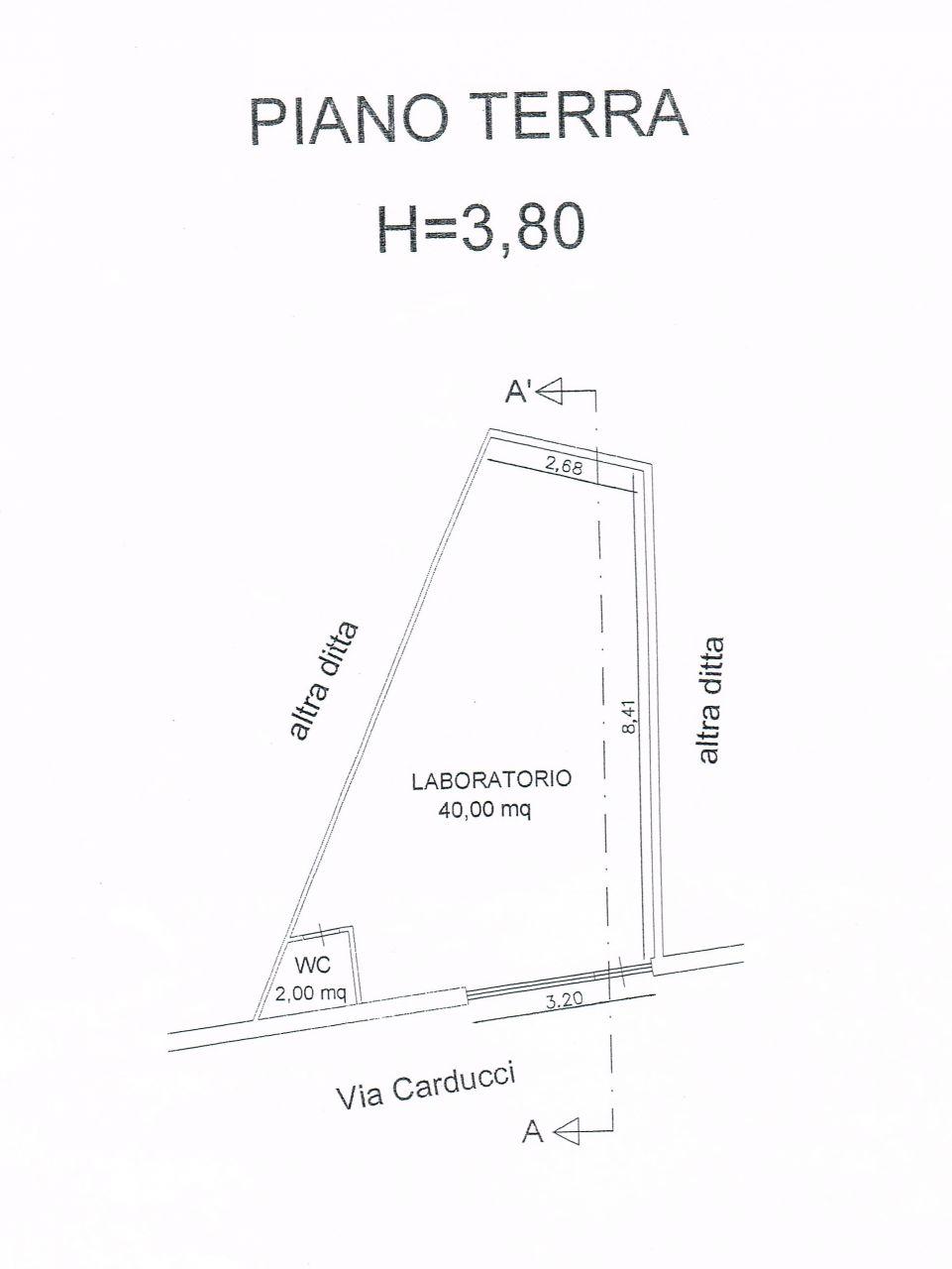 Laboratorio in affitto a Ascoli Piceno, 9999 locali, zona Località: CentroStorico, prezzo € 400 | Cambio Casa.it