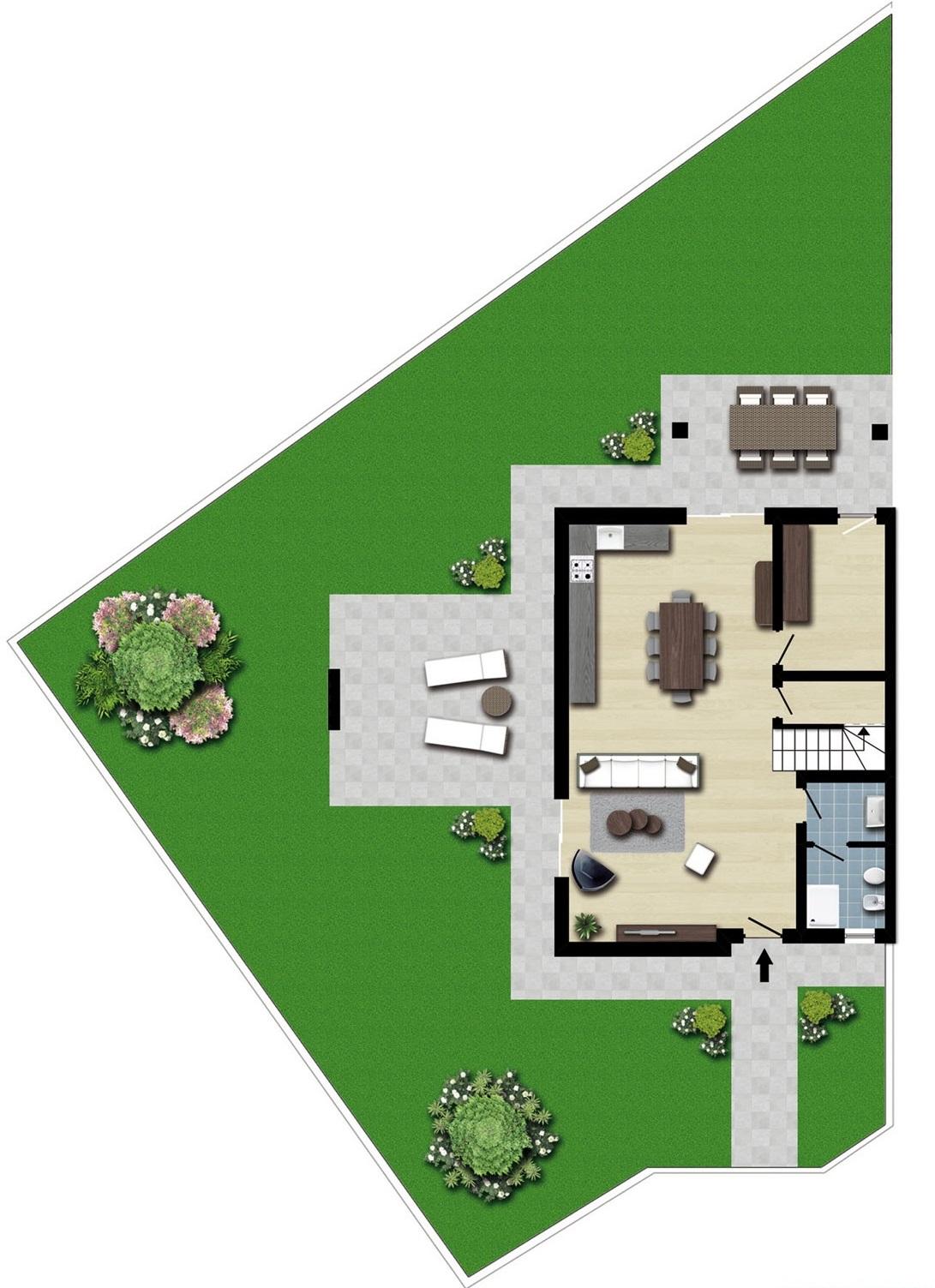 Villa in vendita a Pasian di Prato, 4 locali, prezzo € 310.000 | Cambio Casa.it