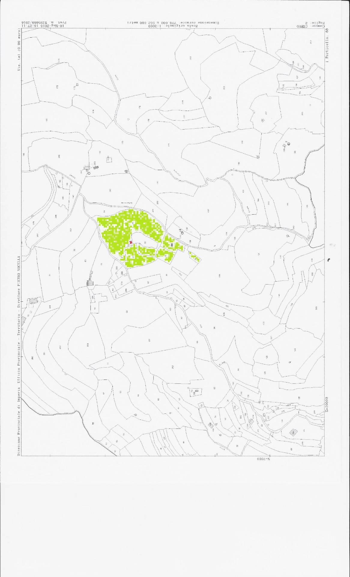 Terreno Edificabile Residenziale in vendita a Cervo, 9999 locali, prezzo € 118.000 | Cambio Casa.it