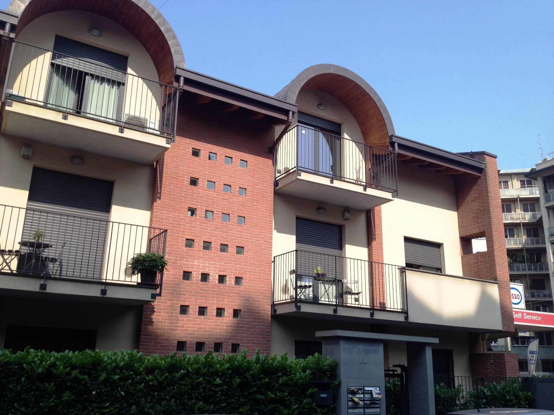 Bilocale Saronno Via Stampa Soncino 3