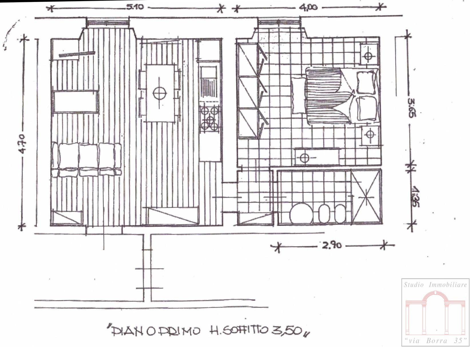 Bilocale Livorno Via Adua 6