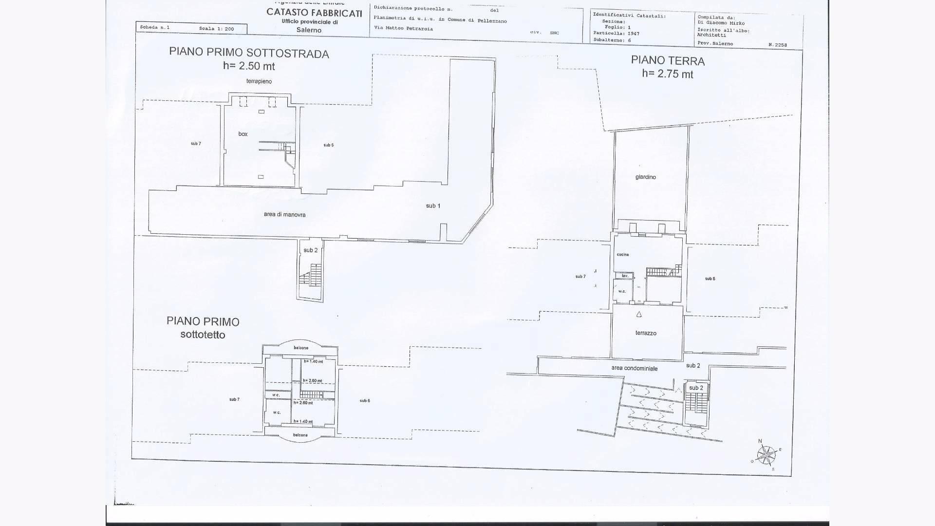 Appartamento in vendita a Pellezzano, 6 locali, prezzo € 295.000 | Cambio Casa.it