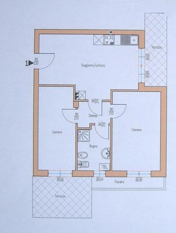 Appartamento in vendita a Cavallino-Treporti, 3 locali, zona Località: Cavallinocentro, prezzo € 145.000 | Cambio Casa.it