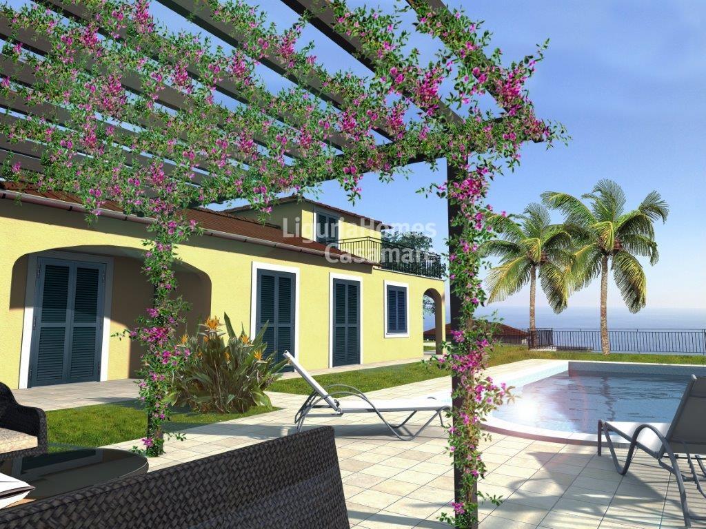 Villa in vendita a Ospedaletti, 9 locali, prezzo € 1.390.000 | Cambio Casa.it