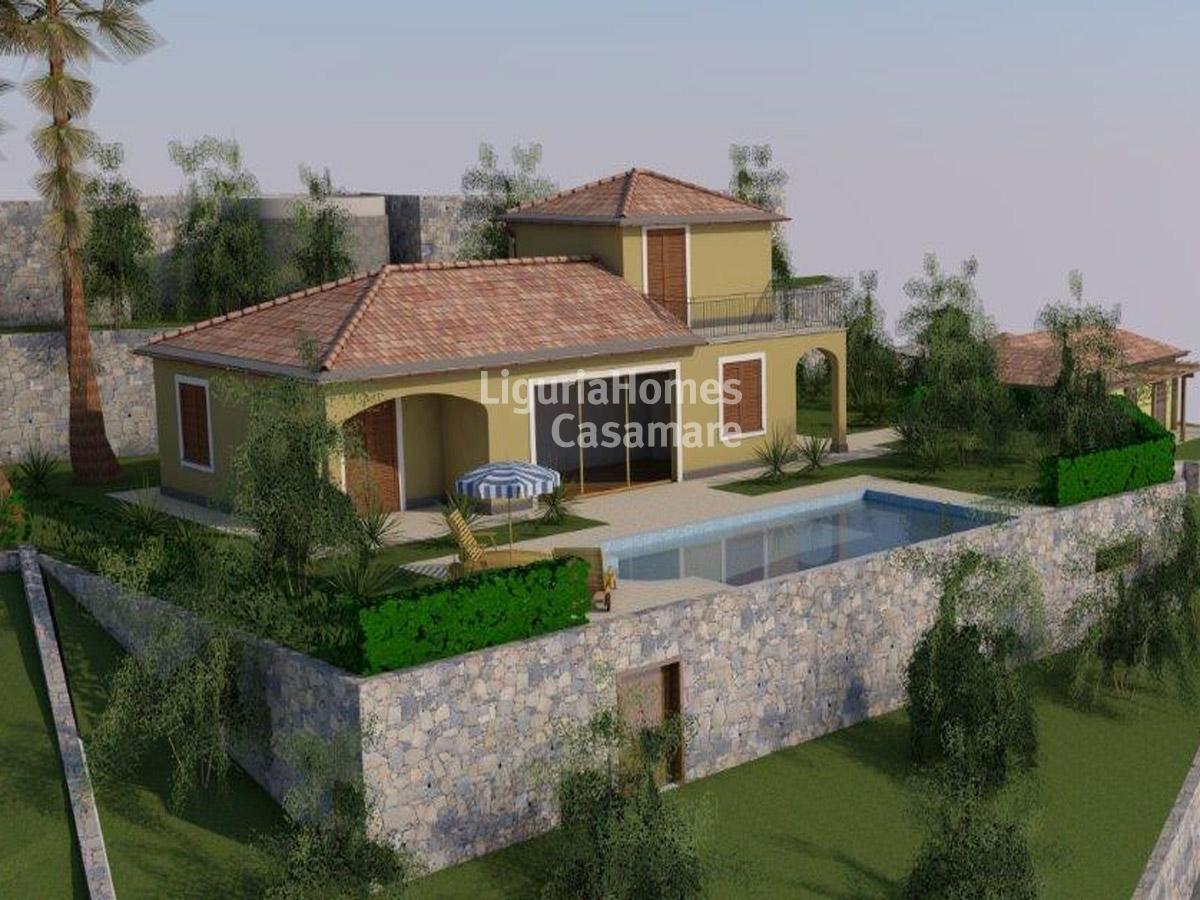 Villa in vendita a Ospedaletti, 9 locali, prezzo € 1.390.000 | CambioCasa.it