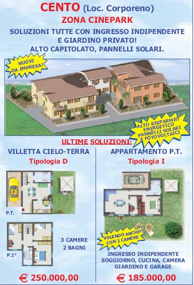 vendita villa Cento 6 140 M 260.000 &euro;