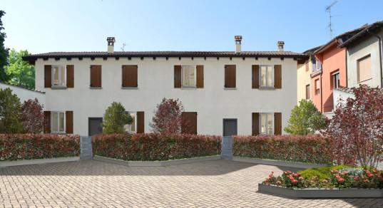 Villa Bifamiliare in vendita a Pieve di Cento, 4 locali, zona Località: PievediCento, prezzo € 225.000 | CambioCasa.it