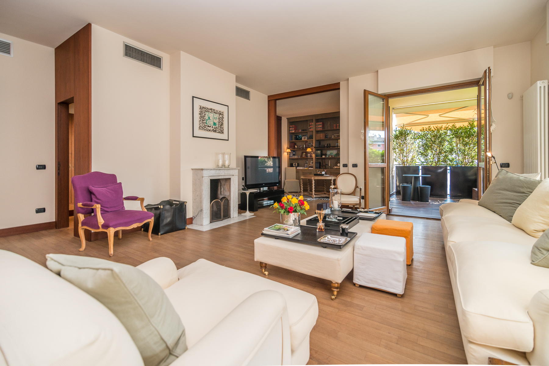 Appartamento di lusso in affitto a milano via bullona for Appartamento design affitto milano
