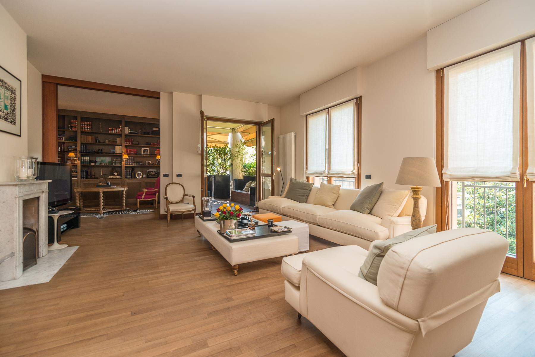 Appartamento di lusso in affitto a milano via bullona for Affitto studio eur