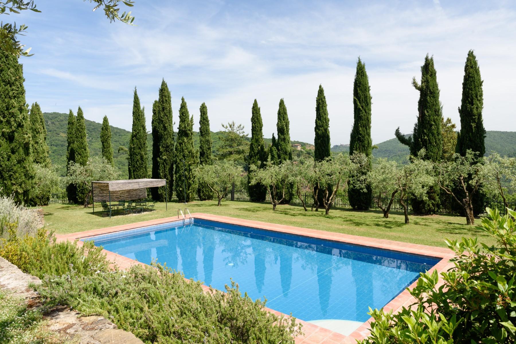 Villa di lusso in vendita a pergine valdarno casa localit - Piscina di pergine ...