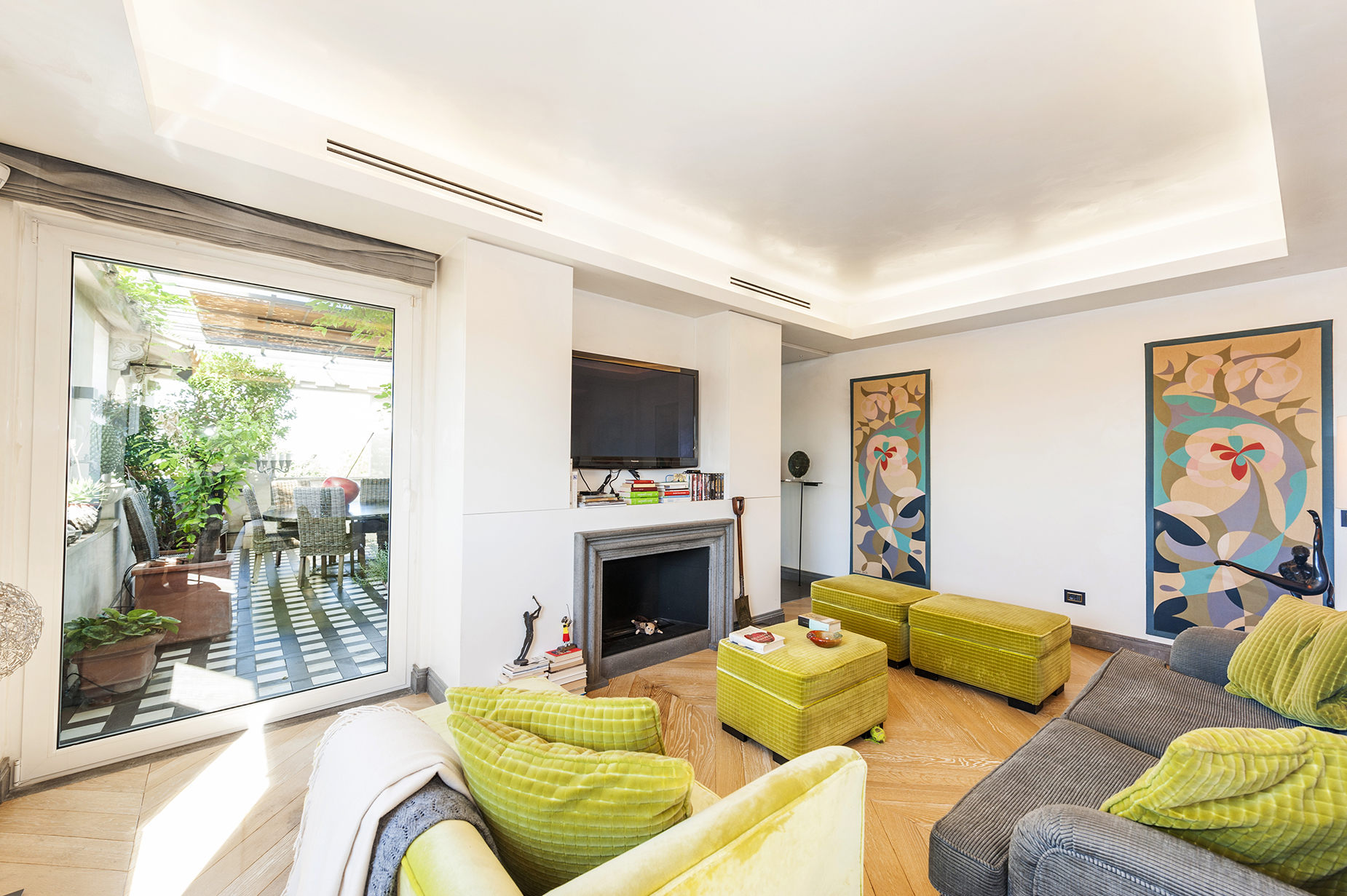Appartamento di lusso in vendita a roma via ludovisi - Appartamento in vendita citta giardino roma ...