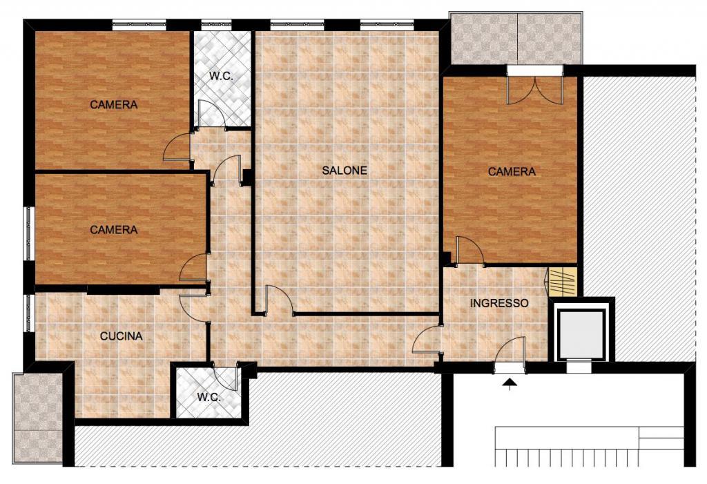 Appartamento in vendita a Catanzaro, 4 locali, zona Località: CATANZAROSUD, prezzo € 187.000 | CambioCasa.it