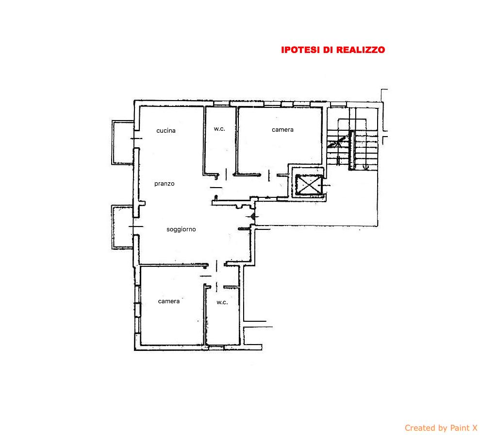 Appartamento in vendita a Villorba, 6 locali, zona Zona: Carità, prezzo € 143.000 | CambioCasa.it