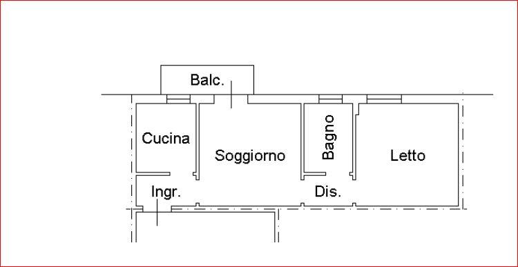 Bilocale Ferrara Via Vallelunga 10