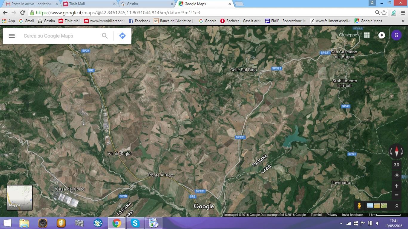 Terreno Agricolo in vendita a San Casciano dei Bagni, 9999 locali, zona Località: CellesulRigo, Trattative riservate | CambioCasa.it