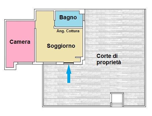 Bilocale Tortoreto Via Garibaldi 8