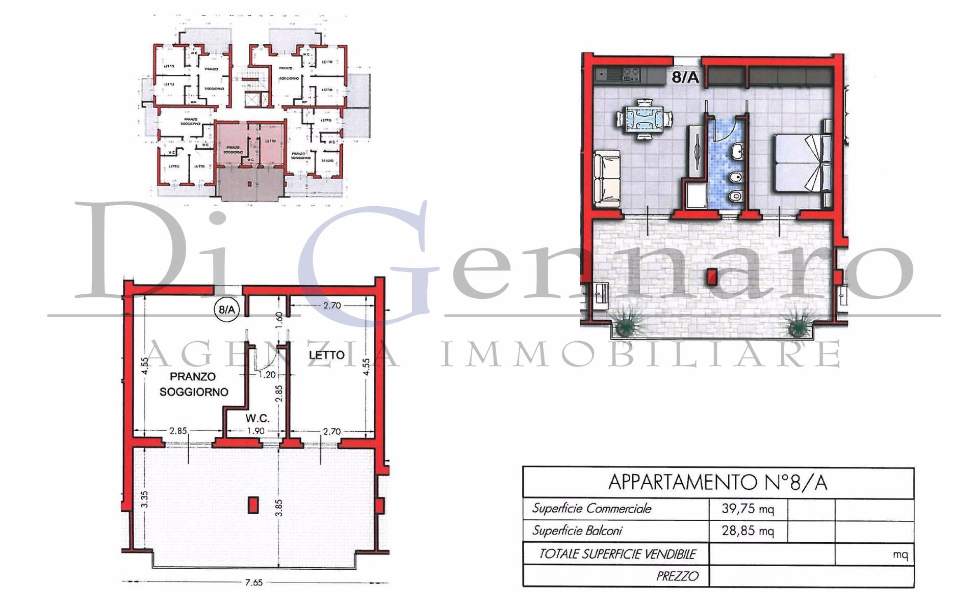 Bilocale Tortoreto Via Giannetti 1