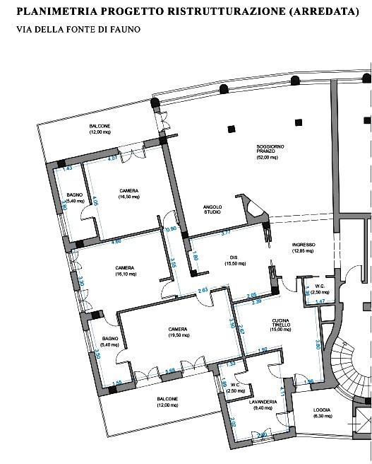 Appartamento in Vendita a Roma: 5 locali, 200 mq - Foto 3