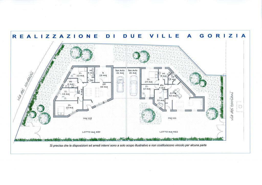 Soluzione Indipendente in vendita a Gorizia, 7 locali, prezzo € 315.000 | Cambio Casa.it