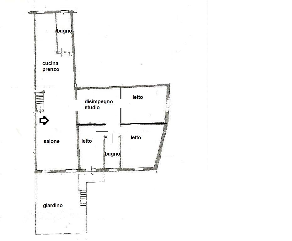 Appartamento in vendita a Ferrara, 6 locali, prezzo € 260.000   Cambio Casa.it