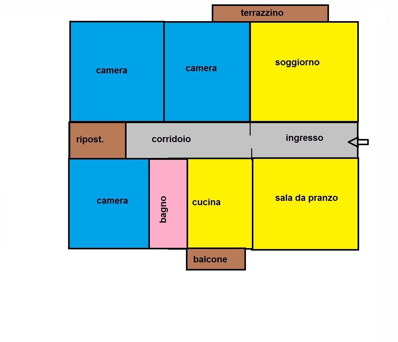 Appartamento in vendita a Pisa, 6 locali, zona Località: ZonaStazione, prezzo € 230.000 | Cambio Casa.it