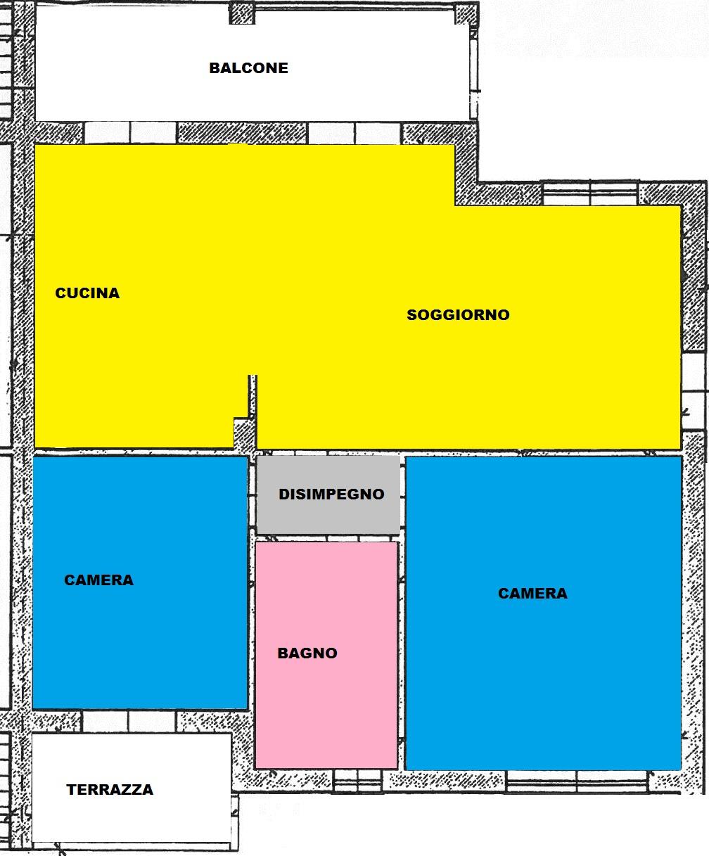Appartamento in vendita a Cascina, 4 locali, zona Località: Centro, prezzo € 178.000 | Cambio Casa.it